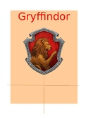Harry Potter House Posters for House System