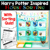 Harry Potter House Sorting and House Points