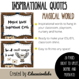 Harry Potter Inspirational Quotes Posters in English