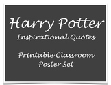 Harry Potter Inspirational Quotes Printable Poster Set