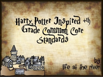 Harry Potter Inspired 4th Grade Common Core Standards