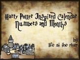 Harry Potter Inspired Calendar Pieces