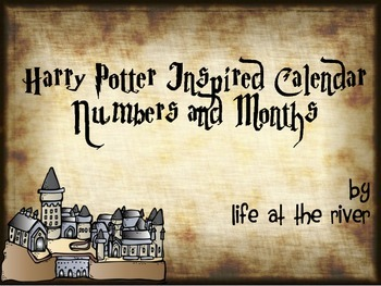 Harry Potter Inspired Calendar Pieces