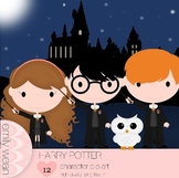Harry Potter Inspired Clip Art