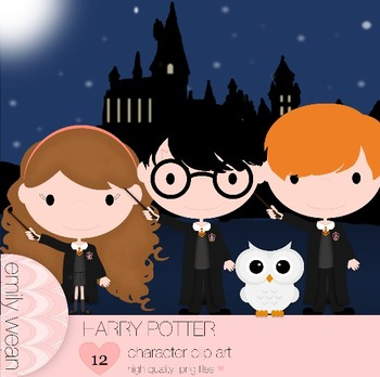 Harry Potter Inspired Clip Art