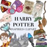 Harry Potter Inspired Clipart 64 Piece Set by Taracotta Sunrise