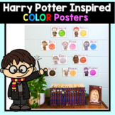 Harry Potter Inspired Color Posters