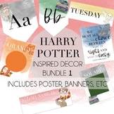 Harry Potter Inspired Decor Bundle 1-Posters, Banners, etc