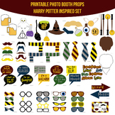 Harry Potter Inspired Printable Photo Booth Prop Set