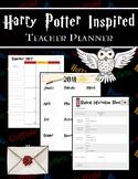 Harry Potter Inspired Teacher Planner/Binder