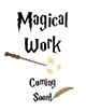 Harry Potter Inspired Work Display Posters