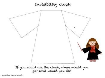 Harry Potter - Invisibility cloak
