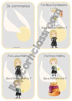 Harry Potter - Jeu de cartes - J´ai - Qui a