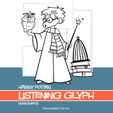 Harry Potter (John Williams) Music Listening Glyph Worksheet Bundle