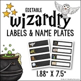 Harry Potter Labels & Name Plates