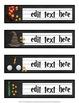 Harry Potter Labels & Name Plates