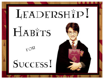Harry Potter Leadership Traits Posters