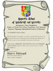 Harry Potter Letter Template