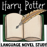 Harry Potter Literary Language Novel Study