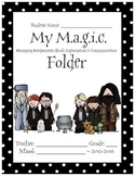 Magic School Home Communication Cover Page Harry Potter