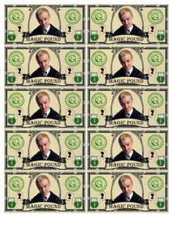 Harry Potter Magic Money