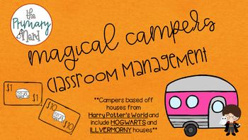Harry Potter Magical Camper Classroom Management