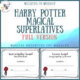 Harry Potter Magical Superlatives Awards - Full Version