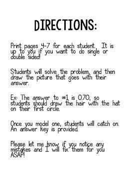 Harry Potter Math Activity