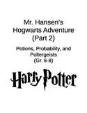 Harry Potter Math Menu, Probability