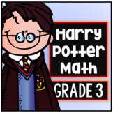 Harry Potter Third Grade Math Packet - Common Core Aligned