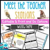 Wizard - Meet the Teacher Night