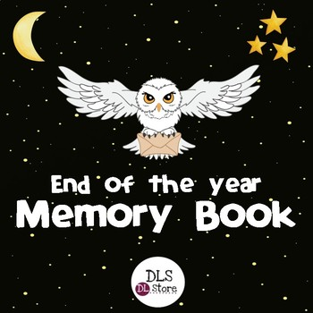End of the year Memory Book - English & Spanish.
