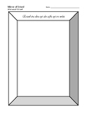 Harry Potter Mirror of Erised Template Activity for Students