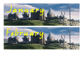 Harry Potter Months of the Year