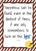 Harry Potter Motivational Quote Poster Set - 7 Colorful Posters