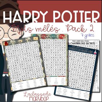 Harry Potter Mots mêlés Pack 2