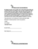 Harry Potter Movie Permission Slip *English and Spanish