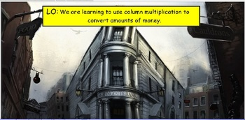 Harry Potter Multiplication Money Conversion