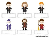 Harry Potter Name Tags