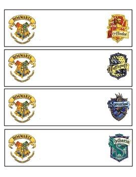 Harry Potter Nametags