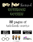 Harry Potter Notebook Covers-Interactive Notebook Covers-R