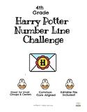 Harry Potter Number Line Challenge
