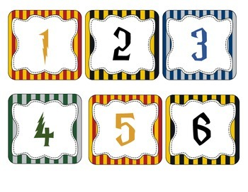 Harry Potter Numbers