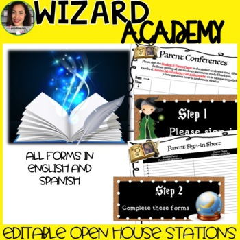 Harry Potter Open House Stations