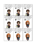 Harry Potter - Open House pencil cards