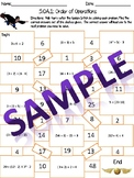 5.OA.1 Harry Potter Order of Operations Maze