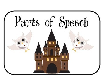 Harry Potter Parts of Speech