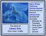 Harry Potter Patronus Themed Drawing Digital Resource/Dist