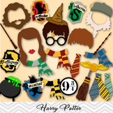 Harry Potter Photo Booth Props, Harry Potter Birthday Part