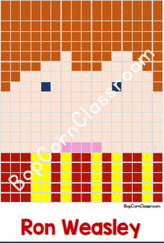 Harry Potter Pixel Art 22 Modèles